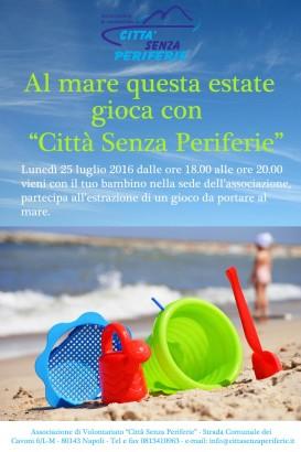 Senza Perifeire Estate 2016