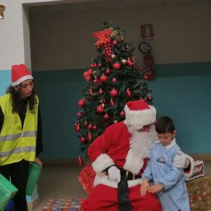 Babbo Natale Scuola Sanzio Napoli